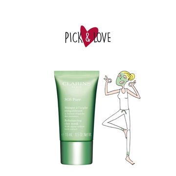 Pick & Love SOS Pure Rebalancing Clay Mask