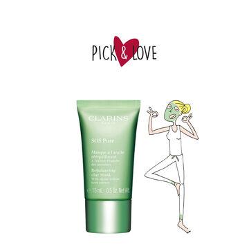 Pick & Love SOS Pure Rebalancing Clay Mask