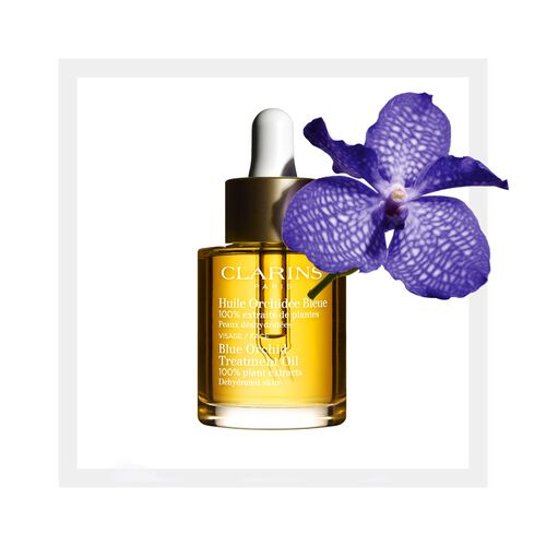 Blue Orchid Face Treatment Oil for Dehydrated Skin