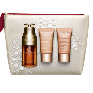 Holiday Double Serum & Extra-Firming Daily Duo