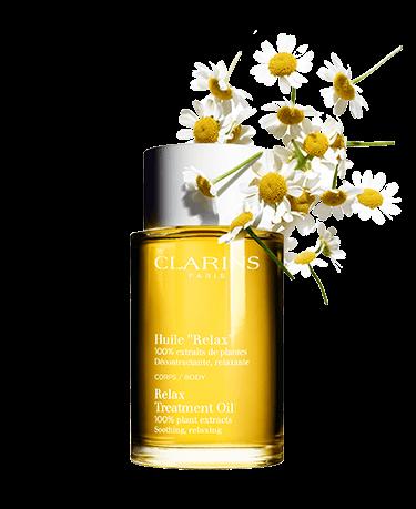 Relax Body Treatment Oil ผลิตจากสารสกัดจากพืชบริสุทธิ์นานาพรรณ 100%