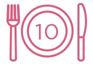 10 meals